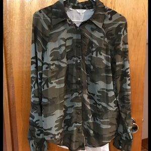 Guess Camouflage Blouse